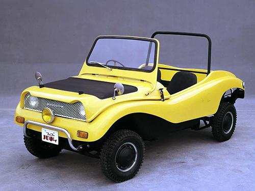 フェローバギー。空冷エンジン搭載と、そのあたりもVWタイプ1のバギーに似ていた