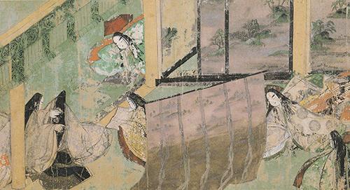 源氏物語の中にも引き戸が見られる