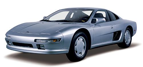 '87年の東京モーターショーで発表されたMID4-Ⅱ。ミドに縦置きされたツインターボ化されたVG30DET(330ps/39.0㎏m)を搭載。ひとまわり大きくなったボディとともに、ミドシップスーパースポーツを予感させるものだった