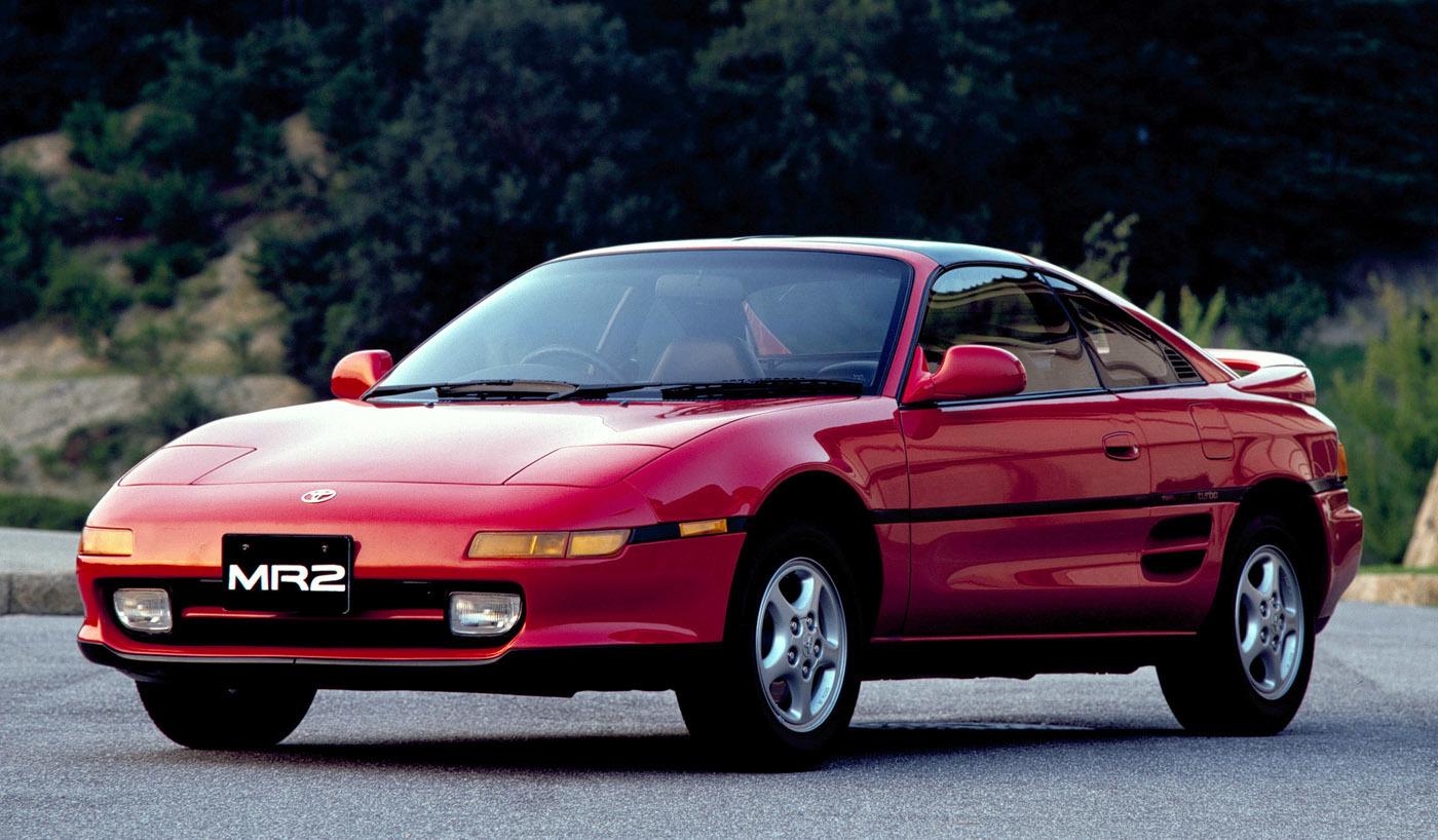トヨタ2代目MR2 1989年発売
