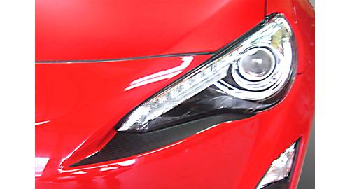 ハセプロ マジカルカーボン アイシャドー/アイシャドー用のマジカルカーボンシート。実勢価格4320円(トヨタ86 ZN6用)