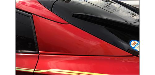 ハセプロ  ペインターシート Cピラー(プリウスZVW50系)…塗装を貼る感覚のシート。実勢価格8500円