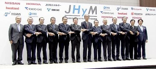 ジェイハイムの発足会見。社長は元トヨタ自動車の菅原英喜氏だ