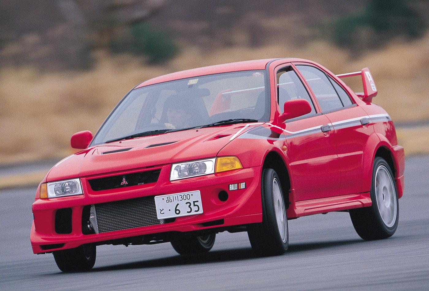 片岡氏が「ベスト・ランエボ」に挙げたのは2000年1月に発売された「ランエボ6 トミ・マキネンエディション」。ランエボを駆って4年連続ドライバーズチャンピオンを獲得したトミ・マキネン氏は、現在トヨタラリーチームの代表を務めている