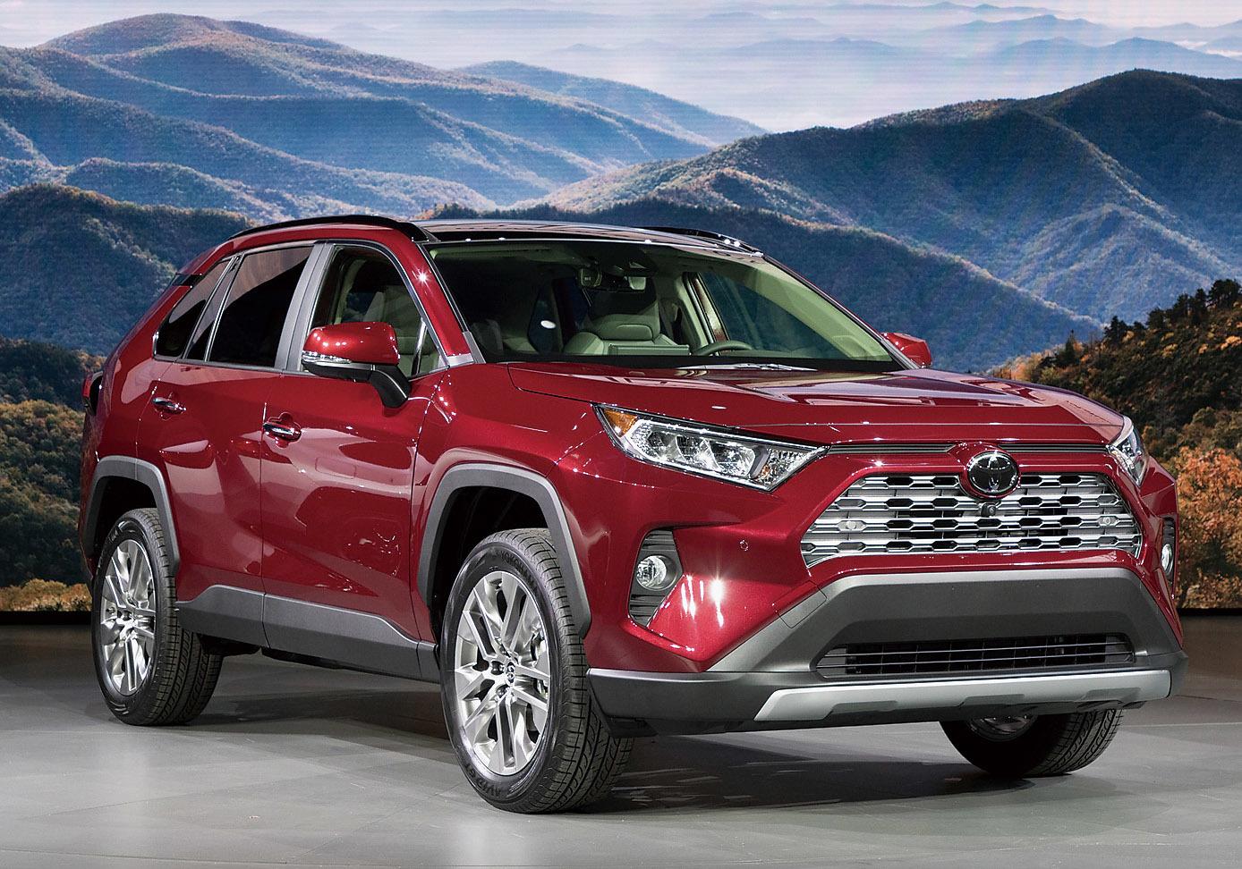 新型RAV4は今年中に北米で発売。日本仕様は2019年春に登場する
