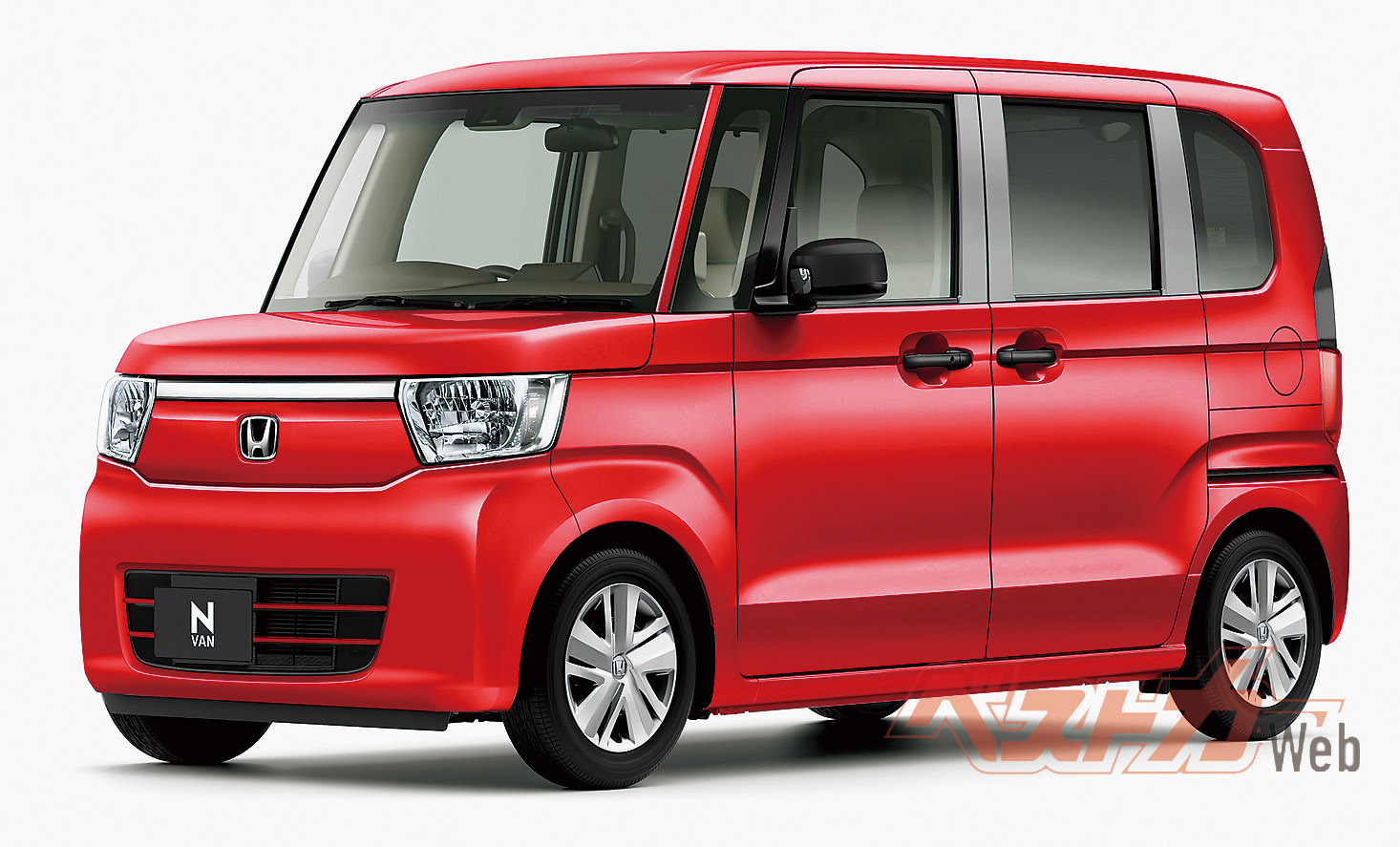 発表発売まで秒読みとなった軽商用車の革命児「N-VAN」(写真は本誌予想CG)