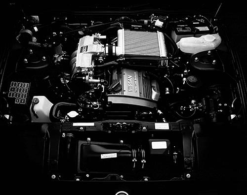 VG20ETの170ps(グロス値)を上回る180ps (ネット値)を発生したRB20DETエンジン。グロス換算すれば30ps、3㎏mの大幅アップとなった
