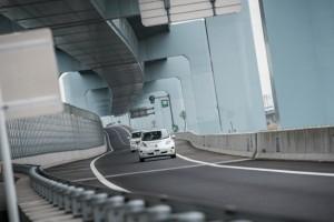 リーフ自動運転 さがみ縦貫道路 のコピー
