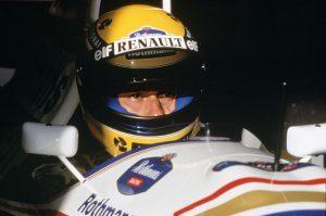 Ayrton Senna in the cockpit of the Williams FW16-Renault. Portrait. Photo: LAT Photographic/Williams F1. Ref: 1994williams18