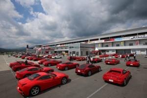 2日間で750台以上のフェラーリが富士に集結!