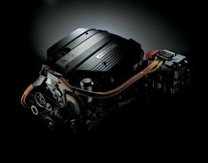 クラウンマイルドハイブリッドのエンジン。