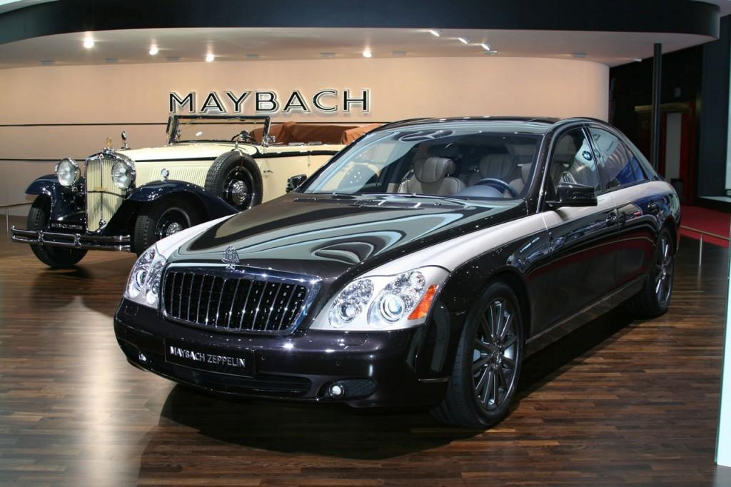 マイバッハツェッペリン(100台)2009年5440~6435万円。 ブランド廃止が決定しているマイバッハだが、戦前のマイバッハブランドの代表的車種だった「ツェッペリン」と同じ車名の限定車を'09年に発売。57と62の計100台で、専用の内外装と640psにチューンされたエンジンを搭載。