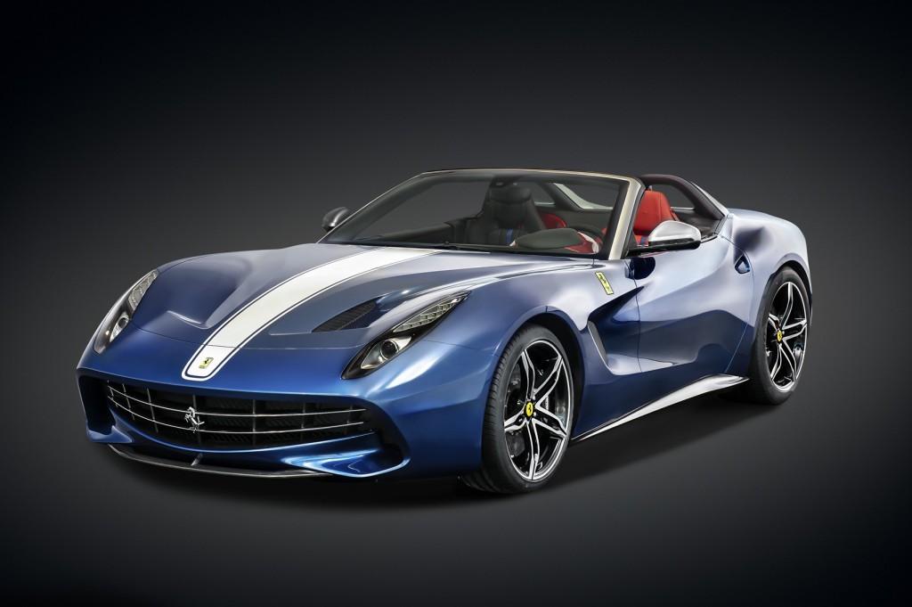 フェラーリF60アメリカ(10台)2億6700万円。北米専用の限定車。F12ベルリネッタがベースで、エンジンは同じく730psのV12、6.3ℓDOHC搭載。