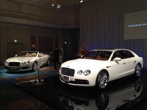 顧客向けのイベントを重ねるベントレー。フライングスパーW12(2340万円)などが好調。