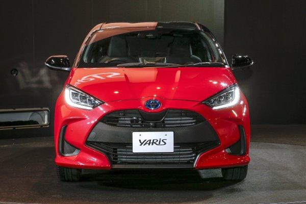 ヴィッツ改め新型ヤリス 世界初公開!! コンパクトカーの世界標準