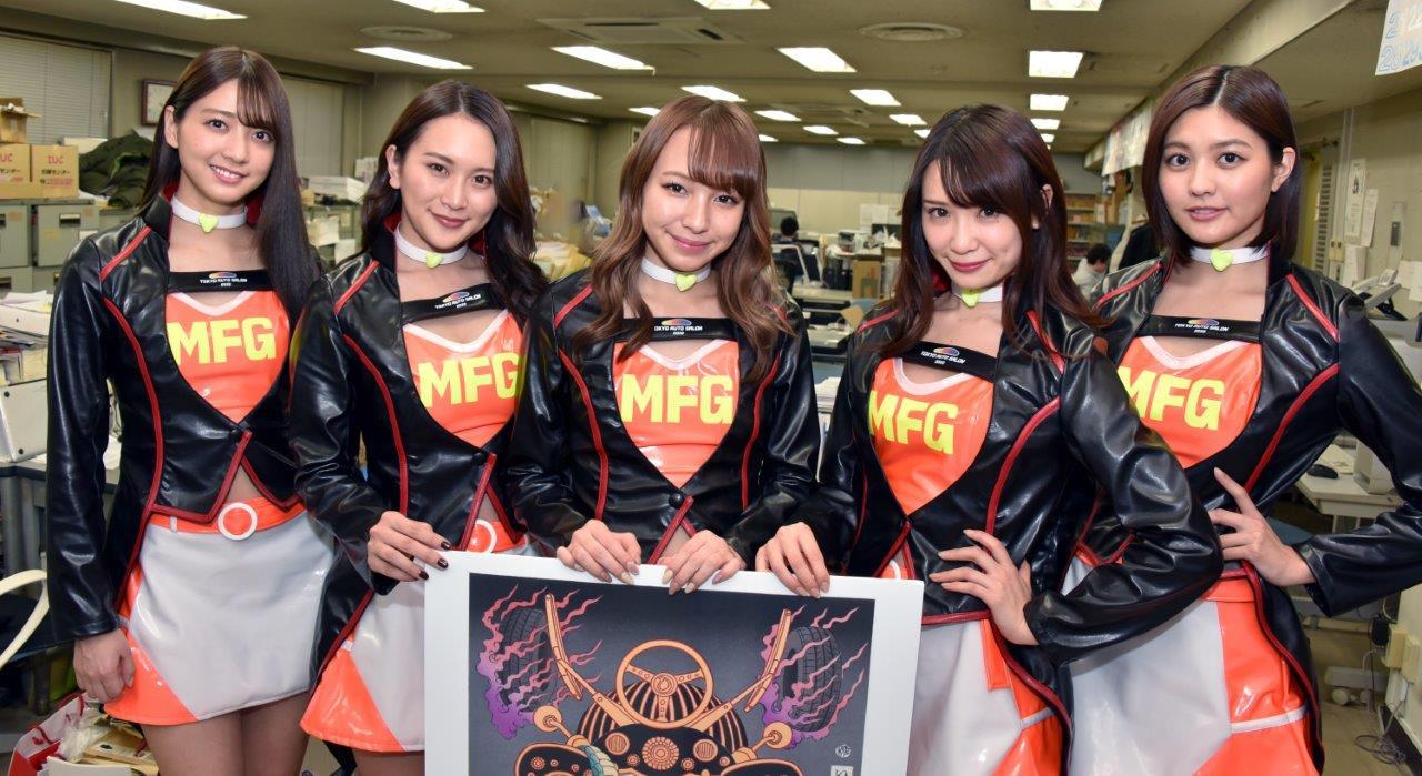【2020年はMFゴーストとコラボ!】東京オートサロンイメージガールがBC編集部にやってきた!!