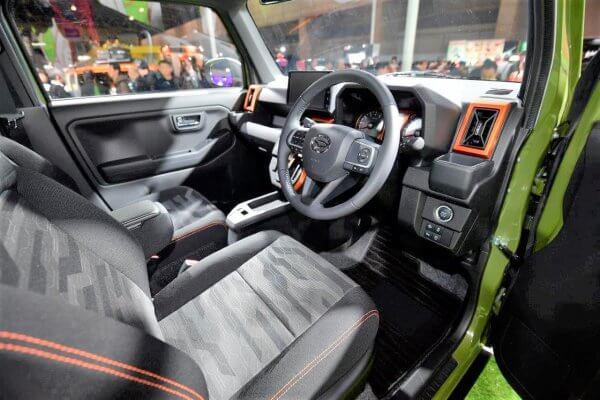 Interior Daihatsu Taft Concept 2020 (Bestcarweb.jp)