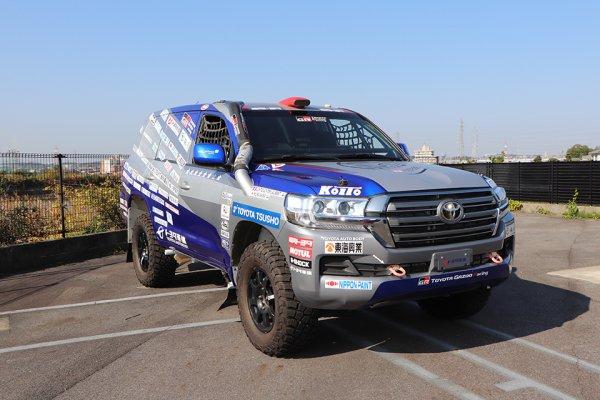 ダカールラリー2021 トヨタ車体 ランドクルーザー1号車