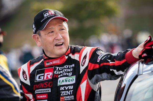 ラリー豊田モリゾウ選手
