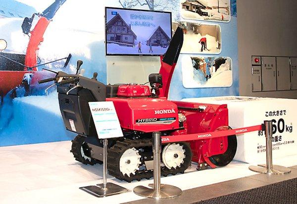 実はシェアナンバーワン!!! ホンダの除雪機が積み重ねた40年