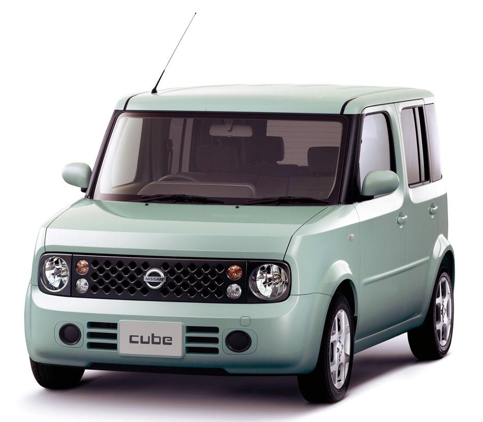 日産 キューブ…日産キューブがデザインの金字塔車に! 空力的には厳しいデザインをよく採用した