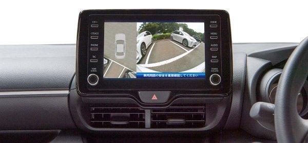 リアカメラ1台で真上からの映像を表示!! 苦手な駐車をサポートしてくれる優れモノ