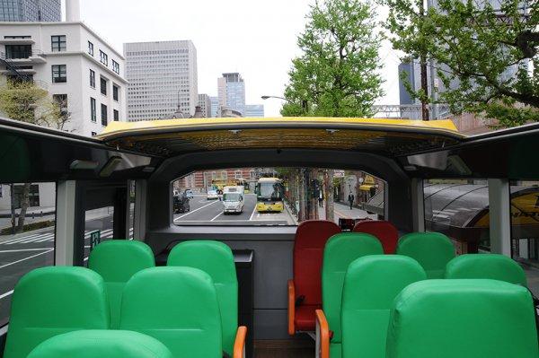 はとバスの高速道路もオープンで走れる新型2階建てバスのエクリプス・ジェミニ3が登場!
