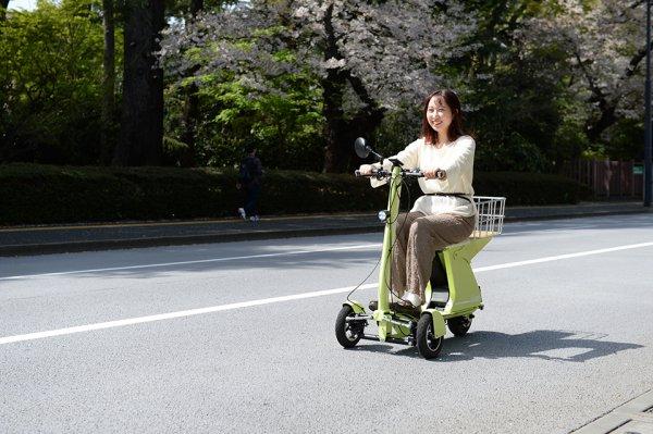 自転車より楽! スクーターより気軽! 3輪EV「GOGO!」は次世代モビリティの台風の目になるか