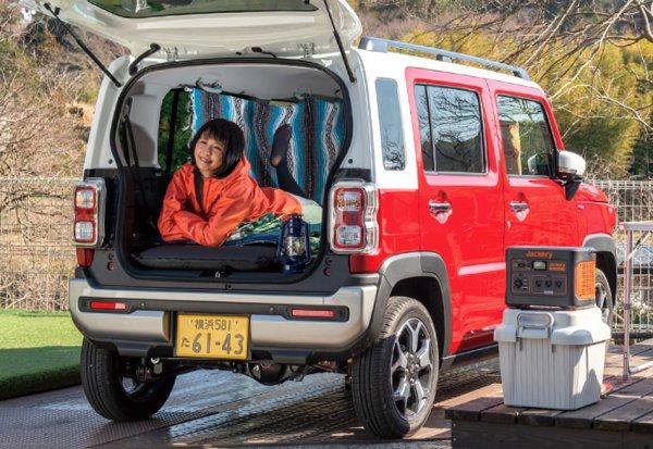 """人急上昇中の車中泊をSUVで楽しもう! 寝れる""""車中泊SUV""""はどれだ!"""