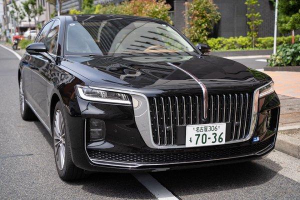 中華の怪物本格上陸!! 中国の最高級車「紅旗H9」に名古屋ナンバーがついた!!