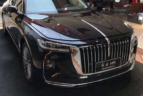 紅旗H9 中国の最高級車