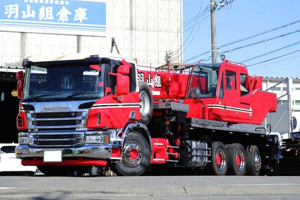 世界に30台だけ!? コンパクトなスカニアがベースの「重量物仕様トラッククレーン」の特徴とは?