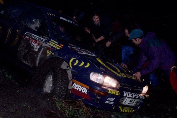 ライバルの背中が遠ざかる……WRCの思い出 1994年最終戦 カルロス・サインツの悲運
