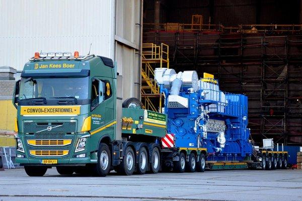 荷台や車軸数が変幻自在! 超重量物を運ぶ世界のトレーラいろいろ【シリーズ 世界の特装車】
