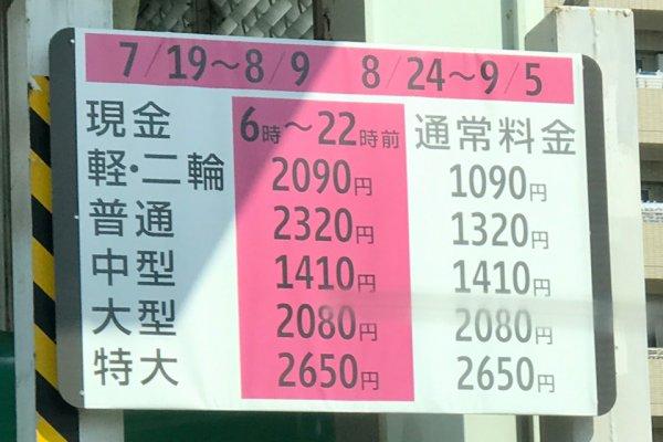 東京パラリンピック開催!! そして再び首都高1000円値上げ!! オリパラに伴う交通規制に意味はあるのか?