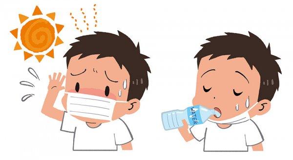 熱中症を防げ!! 調子が悪くなったら飲むのは水よりオレンジジュース