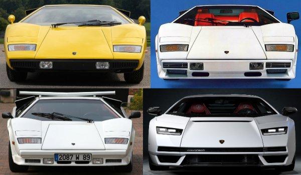 新型カウンタック発売記念 いま世界一カッコいいスポーツカーはどれだ?