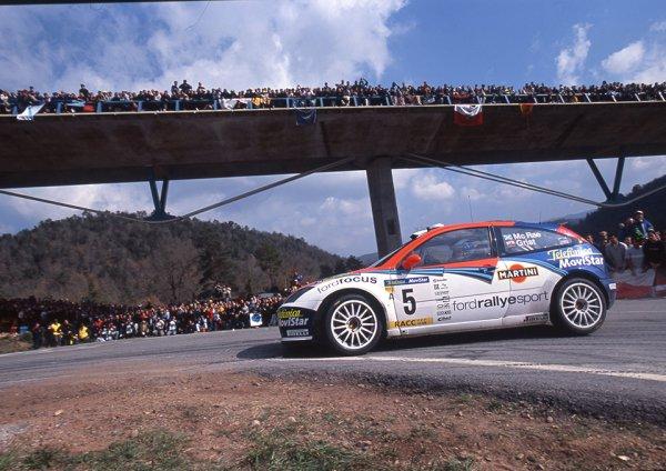 レース中に粋なファンサービス!! WRCでドーナツターンをきめたドライバーがいた!!