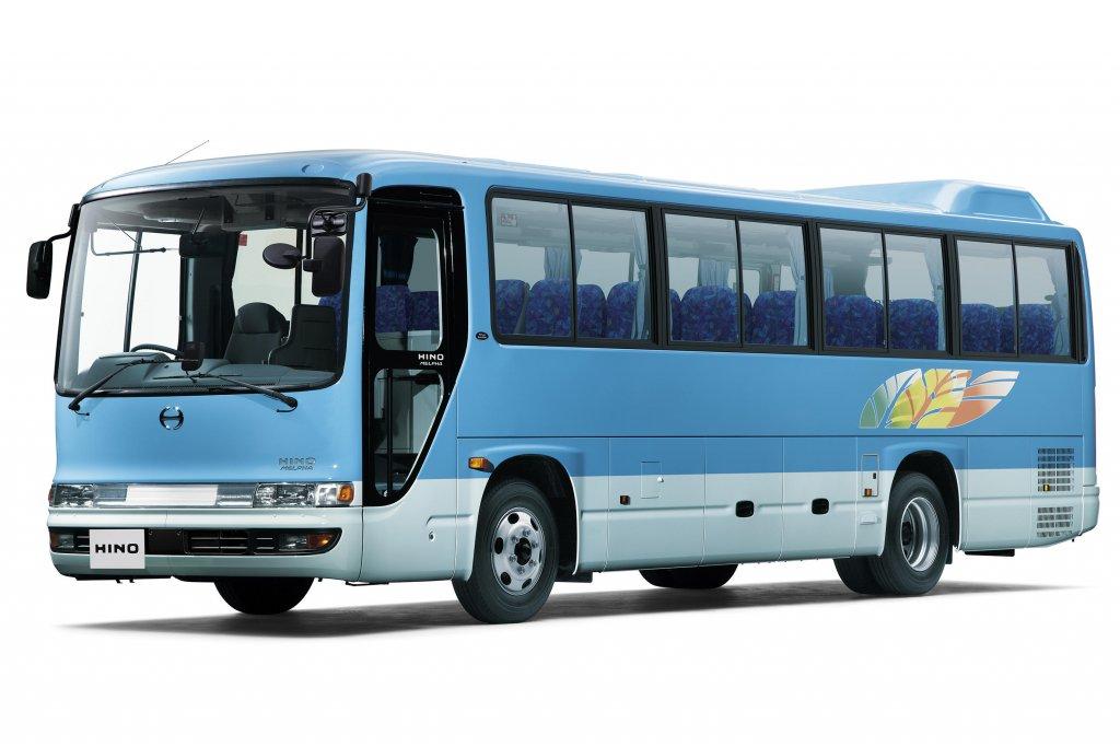 日野自動車が中型バス「日野メルファ」に安全装備を拡充して新発売!
