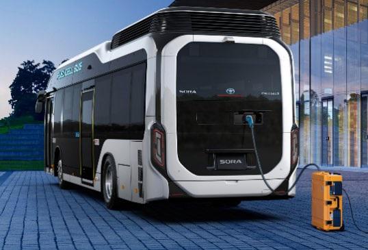 都営バスの燃料電池車が災害時に給電支援!大きなバスが小さな発電所になる