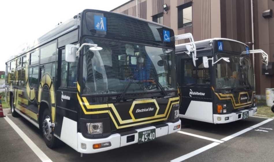 西鉄バス北九州が大型ディーゼル車をレトロフィットで電気車に!2022年から小倉営業所で実証実験開始