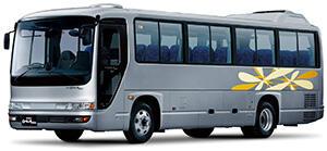 いすゞの中型観光バス「ガーラミオ」が安全装備を大幅に改良し新発売!